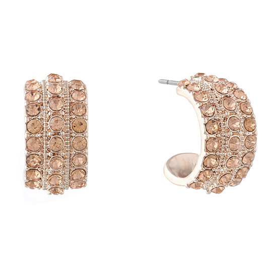 Monet Jewelry Round Hoop Earrings