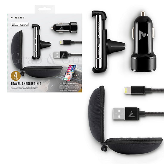 MVMT 4-pc. Travel Charging Kit - Lightning Cable