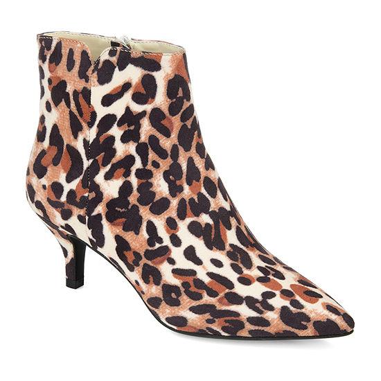 Journee Collection Womens Isobel Kitten Heel Booties