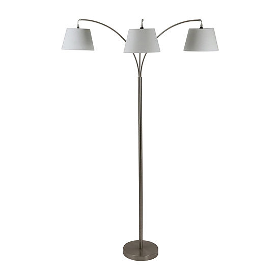Decor Therapy Steel Floor Lamp