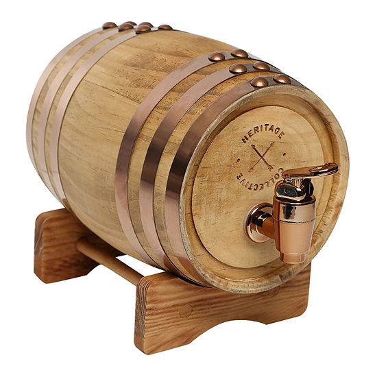 Hammer + Axe™ Wood Whiskey Barrel