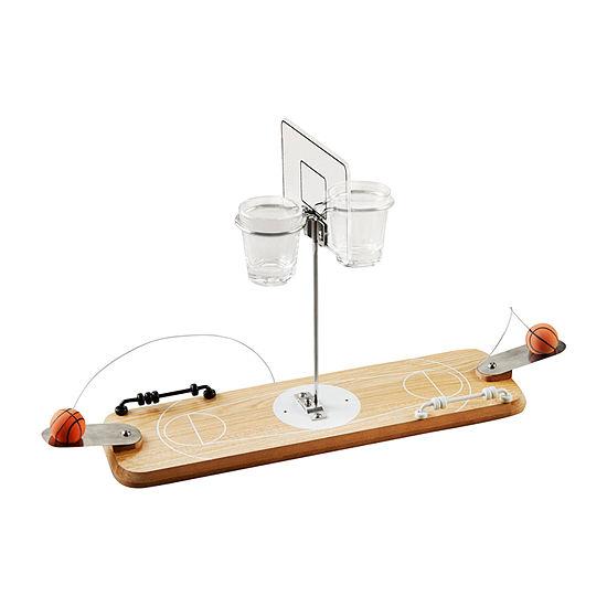 Hammer + Axe™ Wooden Basketball Shot Game
