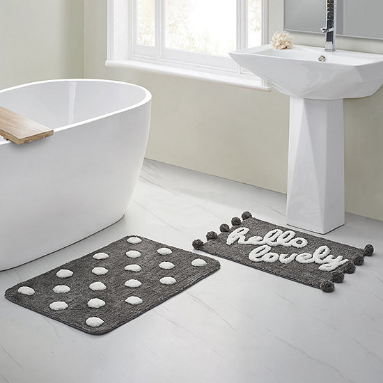 VCNY Hello Lovely 2-pc. Bath Rug Set