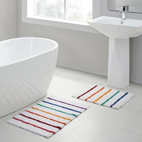 Vcny Rainbow Hotel 2 Pc Bath Rug Set