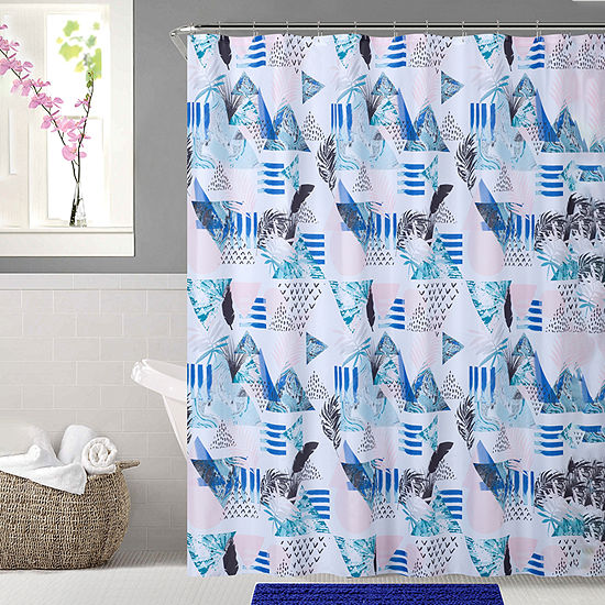 Ca Vibes Shower Curtain Set