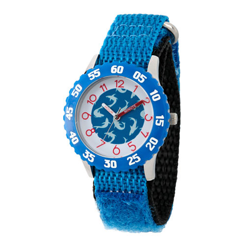 Discovery Kids® Blue and White Multi-Shark Watch