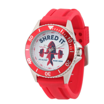 Discovery Expedition Mens Red Shark Watch