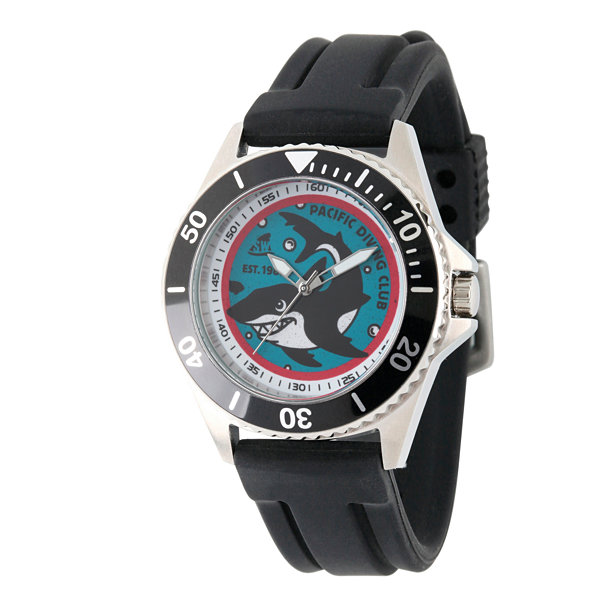 Discovery Expedition Black Shark Watch