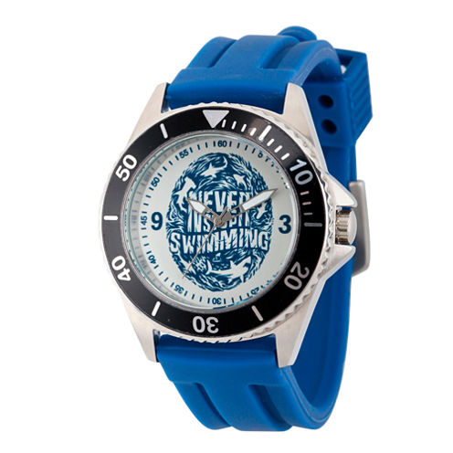 Discovery Expedition Mens Blue and White Watch