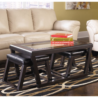 Signature Design by Ashley® Kelton Coffee Table with Stools