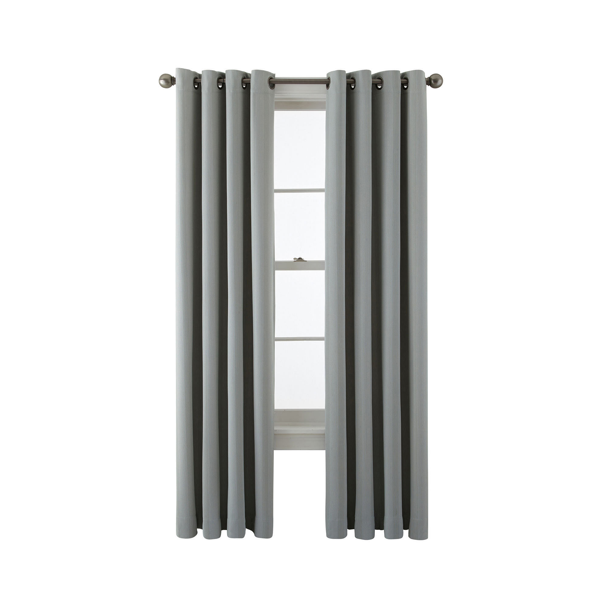 JCPenney Home™ Castor Striped Grommet-Top Blackout Curtain Panel
