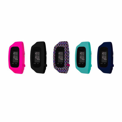 B-fit Women's Activity Tracker & 5pc. Interchangeable Band Set-Ba2206bk607-078