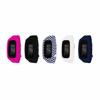 B-fit Women's Activity Tracker & 5pc. Interchangeable Band Set Ba2273bk607-078