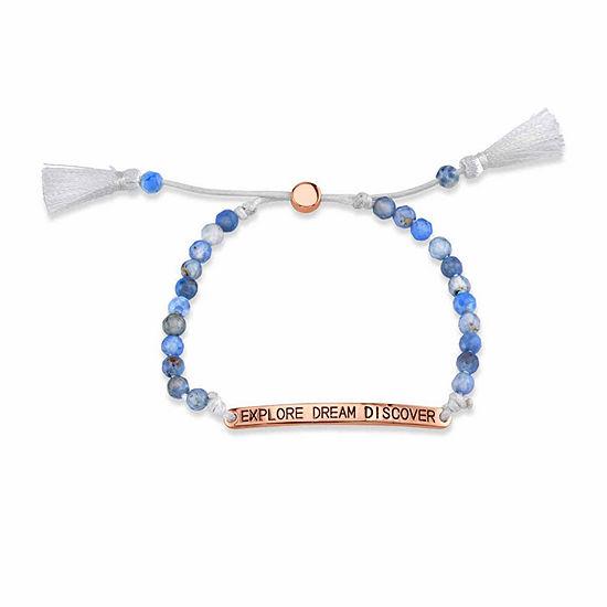 Footnotes Blue Bolo Bracelet