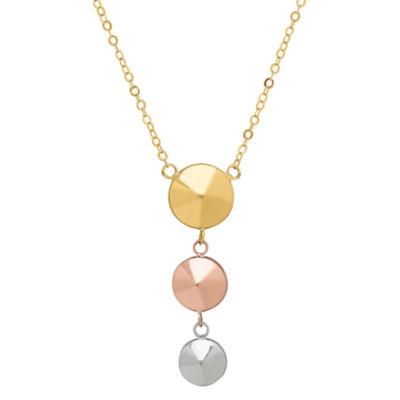 Womens 14K Y Necklace