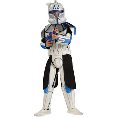 Star Wars Animated Deluxe Clone Trooper Leader RexChild Costume