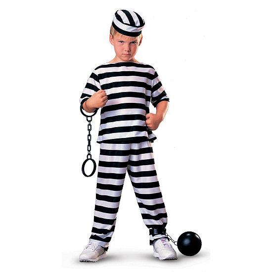 Jailbird Child Costume