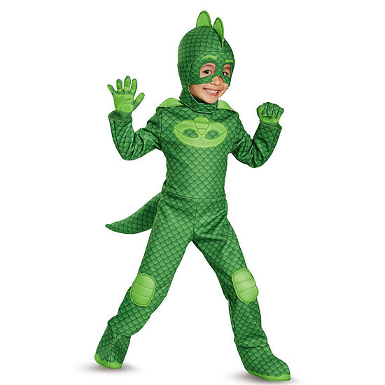 Pj Masks Gekko Deluxe Child Costume Size 4 6