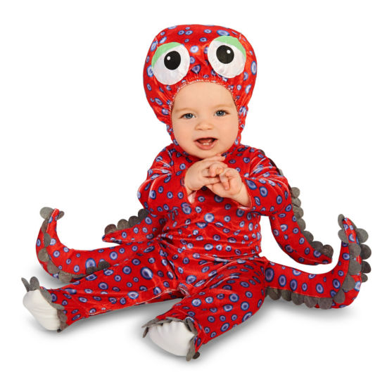 Octopus Infant Costume 6-12 Months