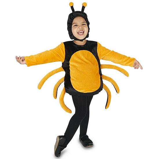 Black & Orange Spider Child Costume