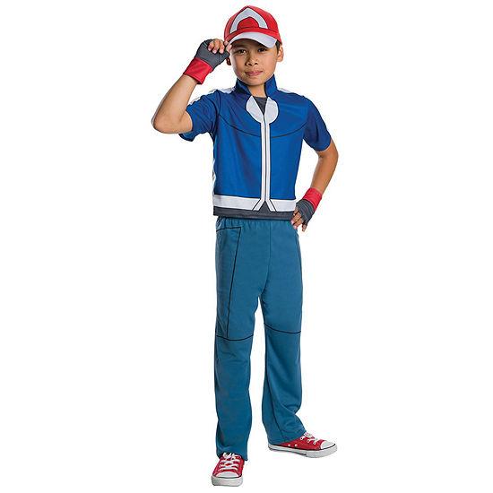Pokemon Childrens Ash Costume