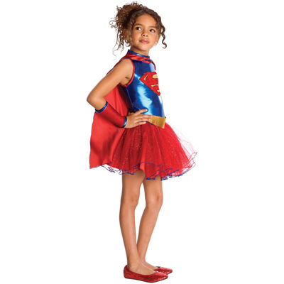 Supergirl Tutu Toddler Costume - 2-4T