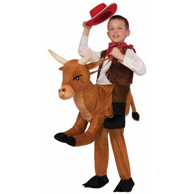 Ride a Bull Child Costume - One Size Fits Most