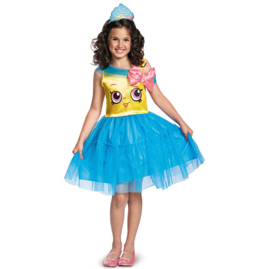 Shopkins Girls Cupcake Queen Costume