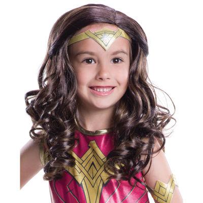 Batman v Superman: Dawn of Justice - Wonder WomanWig For Girls - One-Size
