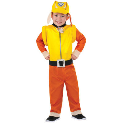 Paw Patrol: Rubble Classic Toddler Costume - (2T-4T)