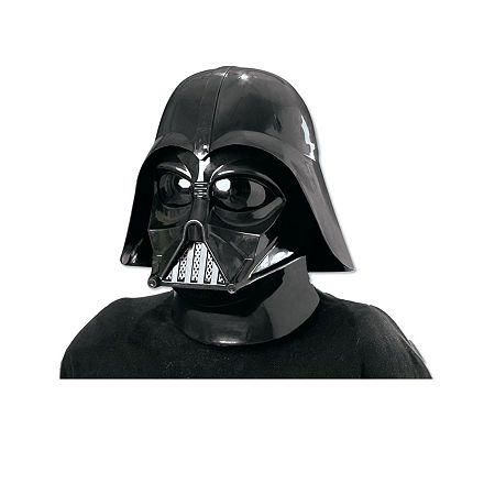 Star Wars Darth Vader 2 Pc Inj Molded Mask, One Size , Black