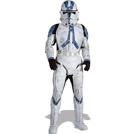 Star Wars Clone Trooper Deluxe Child Costume, Medium , White