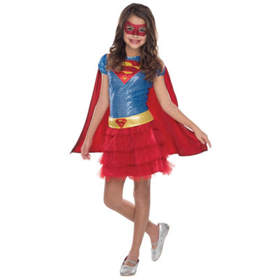 Toddler Supergirl Sequin Costume - 2-4T