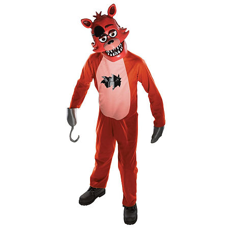 Five Nights at Freddys: Foxy Child Costume, Large , Multiple Colors