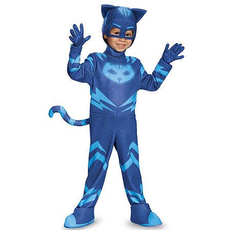 PJ Masks Catboy Deluxe Toddler Costume, 3t-4t , Multiple Colors