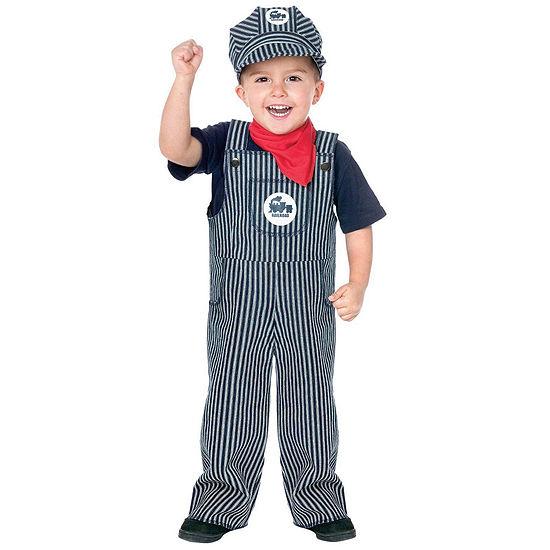 Train Engineer Suit Toddler / Child Costume