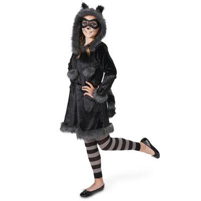 Raccoon with Tights Tween Costume