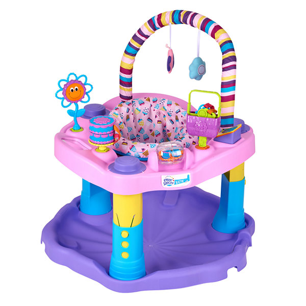 Evenflo Exersaucer Sweet Tea Party Baby Activity Center