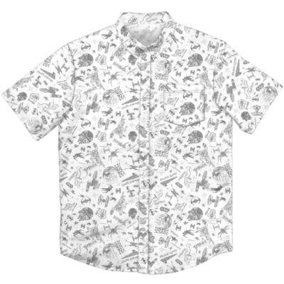 Short Sleeve Button-Front Shirt Boys
