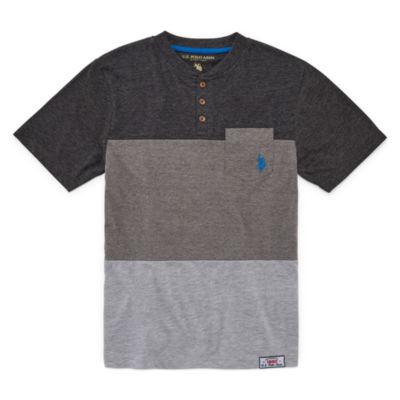 U.S. Polo Assn. Short Sleeve Crew Neck T-Shirt Boys
