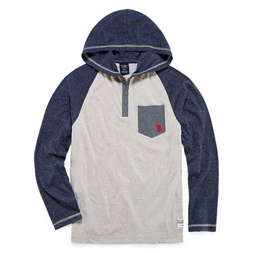 U.S. Polo Assn. Hoodie-Big Kid Boys