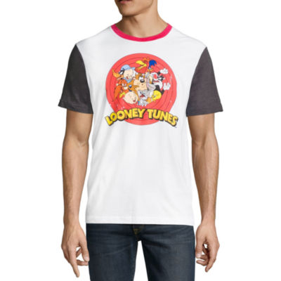 Short Sleeve Looney Tunes Graphic T-Shirt