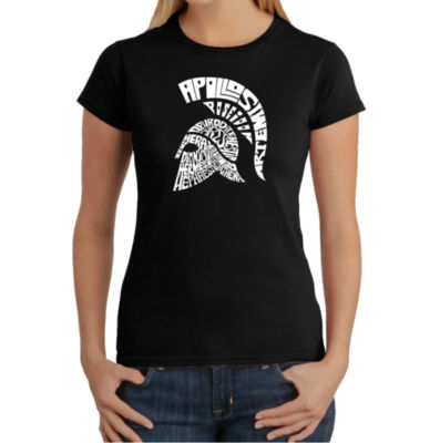 Los Angeles Pop Art Spartan Graphic T-Shirt