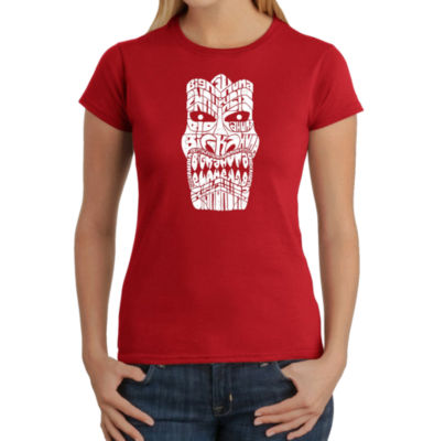 Los Angeles Pop Art Tiki - Big Kahuna Graphic T-Shirt