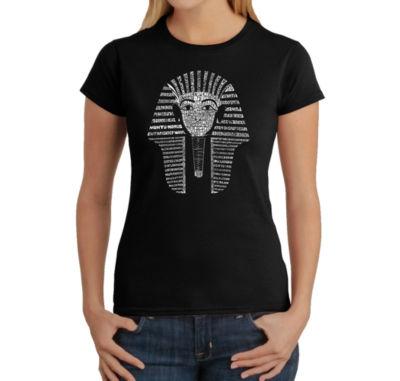 Los Angeles Pop Art King Tut Graphic T-Shirt