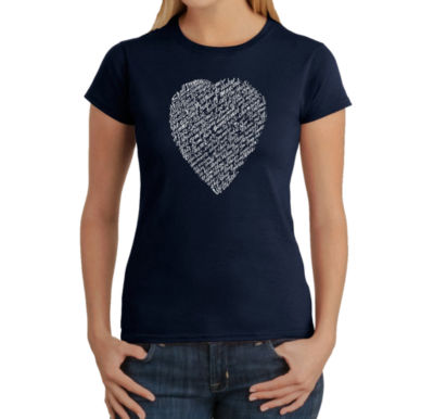 Los Angeles Pop Art William Shakespeare's Sonnet 18 Graphic T-Shirt