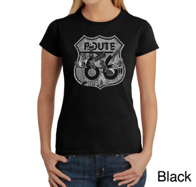 Los Angeles Pop Art Stops Along Route 66 Graphic T-Shirt