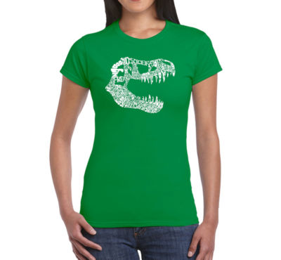 Los Angeles Pop Art Trex Womens Graphic T-Shirt
