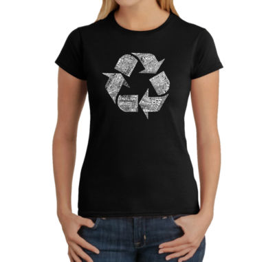 Los Angeles Pop Art 86 Recyclable Products Graphic T-Shirt