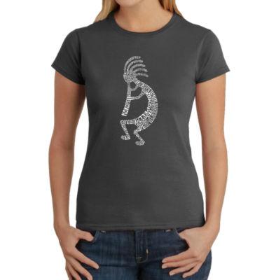 Los Angeles Pop Art Kokopelli Graphic T-Shirt